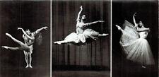 RARE 1981 Russian card on ballet C.Yung, M. derl Rosario Suares Yu. Oyun