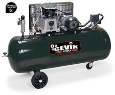Compresor correas Ab200/3m 3hp 200l con ruedas Cevik