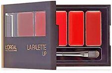 2 L'Oreal Color Riche OMBRE' La Palette Lipstick Brush RED SEALED Makeup LOT New