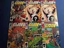 6 GI Joe Comic Books
