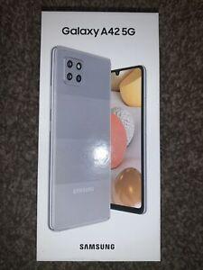 Samsung Galaxy A42 5g-GRAY-128gb-SM-A426U1-NEW-Sealed