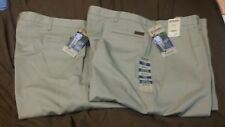2 pair Wrangler Pleated Casual Pant's