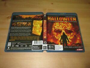 Halloween (Blu-ray, 2007, 2-Disc Set) [Rob Zombie]