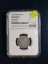 1937 Ireland Shilling NGC XF BETTER DATE 1S SILVER Coin PRICED TO SELL QUICKLY!!