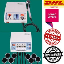 Combo Ultrasound Therapy 1 Mhz Electrotherapy 4 Channel Therapy Ultrasonic Unit