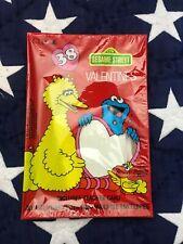 Vtg 1985 Cleo Sesame Street Big Bird Glossy School 38 Valentines Made in Usa Nip