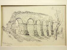 PAILLARD Henri Pierre (1844-1912) Attribué à. Ruines Romaines Constantine