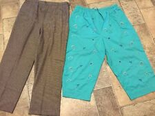 KATHIE LEE Woman & BRECKENRIDGE Pants Dress Casual LOT Of 2 Womens Size 20 W :
