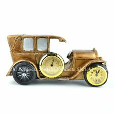 Christmas Gifts Vintage Car Clock Home Decorations Piece Craft Birthday Presents