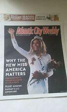 MISS AMERICA 2015 KIRA KAZANTSEV COVER ATLANTIC CITY  PAPER  9/18-25, 2014 NEW