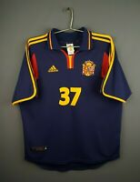 5/5 Spain jersey medium 1999 2000 away shirt soccer football Adidas ig93