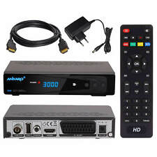 Kabelreceiver Kabelfernsehen Kabel HD TV Receiver DVB-C USB Scart + HDMI Kabel
