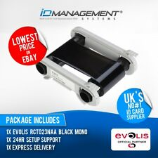 Evolis Monochrome Ribbon for Zenius & Primacy Printers • 2000 Prints