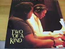 JOHN HICKS AND RAY DRUMMOND TWO OF A KIND LP MINT---