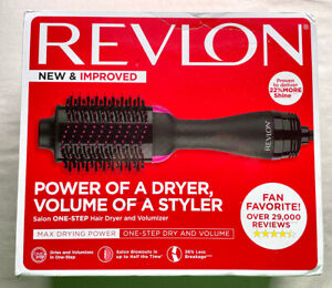Revlon RVDR5222 One-Step Hair Dryer And Volumizer Hot Air Brush - Box Damaged