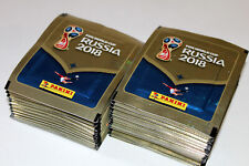 Panini WC WM RUSSIA 2018 18 INT. VERSION 670 – 100 x Tüte packet bustina MINT