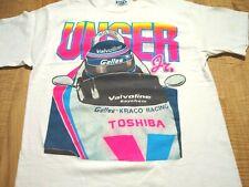 Vintage 1992 Indy 500 Champ Winner Al Unser JR Galles Kraco Car T Shirt USA M