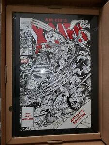 JIM LEE'S X-MEN ARTIST'S EDITION SIGNED & NUMBERED VARIANT IDW HARDCOVER SEALED