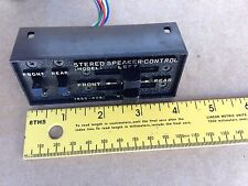NOS  RADIO STEREO SPEAKER CONTROL FOR CARS