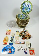 Vintage Sewing Basket Japan