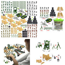 Army Men Action Figures Army Toys Set Toy Soldier Military Battlefield Playset