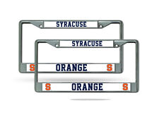 Orange Rico Industries NCAA Florida A/&M Rattlers Team Colored Chrome License Plate Frame