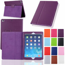 For iPad 9.7 6th Generation 2018 / 5th 2017 Leather Case Hard Smart Screen Cover
