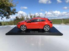 Motorart Opel Astra J GTC 1:43 Collector's Model Car - Vauxhall - Rare ~ Red