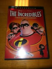 The Incredibles Disc 2 Two Only . Dvd 2-Disc Set With Only Disc 2