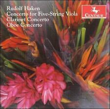Rudolf Haken: Concerto for Five-String Viola; Clarinet Concerto; Oboe Concerto,