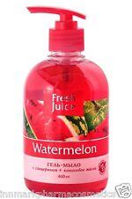 27159 Gel-soap Watermelon with glycerol + coconut oil  Fresh Juice