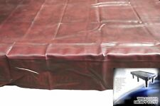FORMULA Burgundy Heavy Duty 8ft TABLE COVER - Pool Snooker Billiards Balls Cues