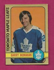 1972-73 OPC # 207 LEAFS GARRY MONAHAN EX+ CARD (INV#5336)