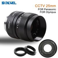 FUJIAN 25mm f/1.4 C Mount CCTV f1.4 Lens for Micro 4/3 m4/3 EPL5 EPM3 EP2 EPL7