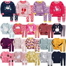 """G40 Style"" Vaenait Baby Kids Toddler Girls Long Clothes Sleepwear Set 12M-7T"