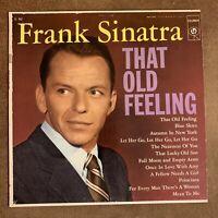 Frank Sinatra – That Old Feeling: Columbia LP 1956 Vinyl Compilation (Jazz)