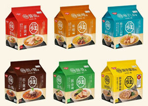NISSIN RAOH Ramen Noodles Instant Miso Soy Sauce Salt 6 Flavors 5pcs Set Japan