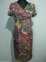 STUDIBAKER Dress Size Australia Dress Size 10 red yellow black Business Occasion