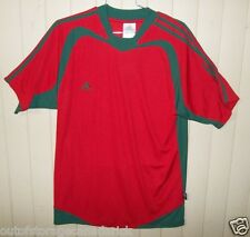 Adidas  Short Sleeve Red/green Soccer Jersey  Men's Large