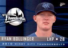 2010 Windy City Thunderbolts Multi-Ad #8 Ryan Bollinger Minot North Dakota Card