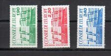 EB284 - France 1986 - Timbre Service -Conseil de l'Europe -  N°  93 à 95