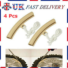 4x ALLOY WHEEL RIM PROTECTOR TYRE REMOVE EDGE PROTECTION MOTORCYCLE MOTORCYCLE