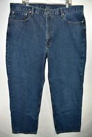Levi's 550 Relaxed Fit Mens Jeans Size 42x30 Medium Wash Meas. 41x30.5