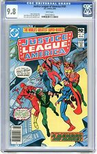 Justice League of America  #181   CGC  9.8   NMMT  White pgs Ross Andru & Dick G