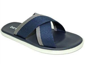 Bar III Men's Cliff Cross Sandals Navy Size 8.5 M