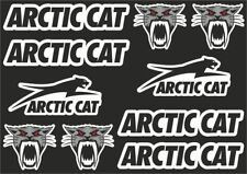 ARCTIC CAT Decal Set Sticker Vinyl Graphic Logo Adhesive High Quality 10 Pcs