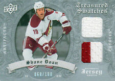 08-09 Artifacts Treasured Swatches Dual SILVER xx/100 Made! Shane DOAN - Coyotes