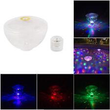 New listing Underwater Bathtub Led Light Show Floating Spa Pool Lamp 5 Mode Baby Bathing Toy
