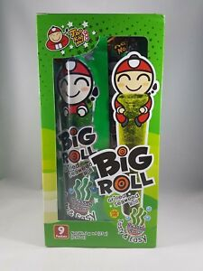 TAO KAE NOI Grilled Seaweed Big Roll Classic Flavor 9 Packets FREE SHIPPING