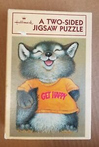 Shirt Tales Hallmark 2-sided puzzle Vintage 1980's